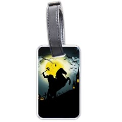 Headless Horseman Luggage Tags (two Sides) by Valentinaart