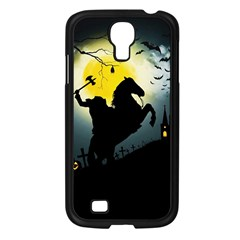 Headless Horseman Samsung Galaxy S4 I9500/ I9505 Case (black) by Valentinaart