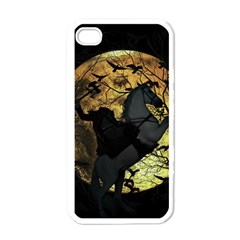 Headless Horseman Apple Iphone 4 Case (white) by Valentinaart