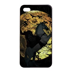 Headless Horseman Apple Iphone 4/4s Seamless Case (black) by Valentinaart