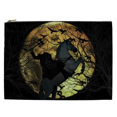 Headless Horseman Cosmetic Bag (xxl)  by Valentinaart