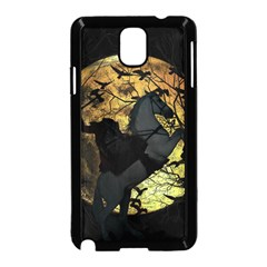 Headless Horseman Samsung Galaxy Note 3 Neo Hardshell Case (black) by Valentinaart