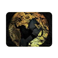 Headless Horseman Double Sided Flano Blanket (mini)  by Valentinaart