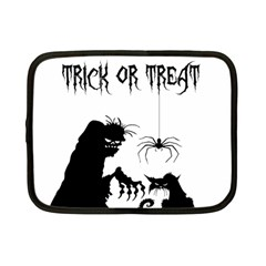 Halloween Netbook Case (small)  by Valentinaart