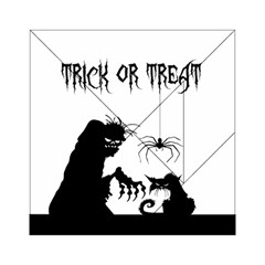 Halloween Acrylic Tangram Puzzle (6  X 6 ) by Valentinaart