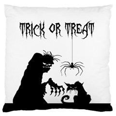 Halloween Standard Flano Cushion Case (one Side) by Valentinaart