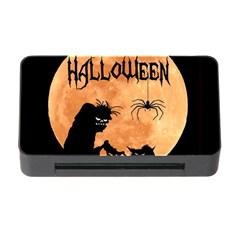 Halloween Memory Card Reader With Cf by Valentinaart