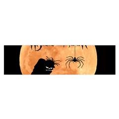 Halloween Satin Scarf (oblong) by Valentinaart