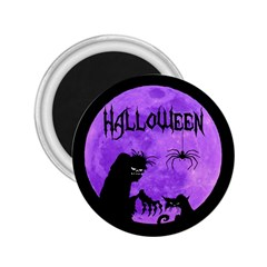 Halloween 2 25  Magnets by Valentinaart