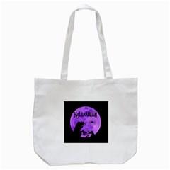 Halloween Tote Bag (white) by Valentinaart