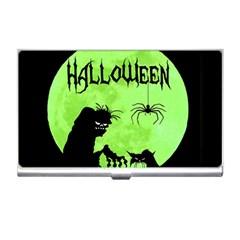 Halloween Business Card Holders by Valentinaart