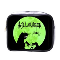 Halloween Mini Toiletries Bags by Valentinaart