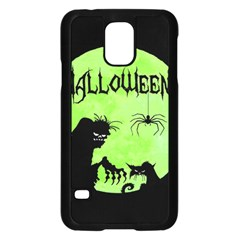 Halloween Samsung Galaxy S5 Case (black) by Valentinaart