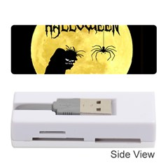 Halloween Memory Card Reader (stick)  by Valentinaart