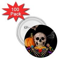 Halloween Candy Keeper 1 75  Buttons (100 Pack)  by Valentinaart