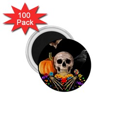 Halloween Candy Keeper 1 75  Magnets (100 Pack)  by Valentinaart