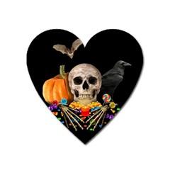 Halloween Candy Keeper Heart Magnet