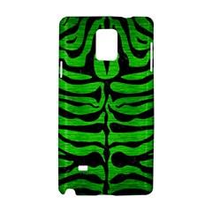 Skin2 Black Marble & Green Brushed Metal (r) Samsung Galaxy Note 4 Hardshell Case by trendistuff