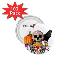 Halloween Candy Keeper 1 75  Buttons (100 Pack)  by Valentinaart