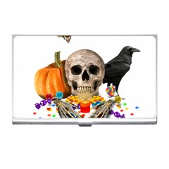 Halloween Candy Keeper Business Card Holders by Valentinaart