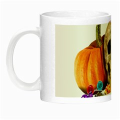 Halloween Candy Keeper Night Luminous Mugs by Valentinaart