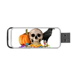 Halloween Candy Keeper Portable Usb Flash (one Side) by Valentinaart