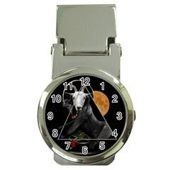 Spiritual Goat Money Clip Watches by Valentinaart