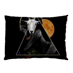 Spiritual Goat Pillow Case (two Sides) by Valentinaart