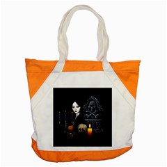 Vampires Night  Accent Tote Bag by Valentinaart