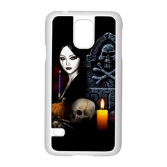 Vampires Night  Samsung Galaxy S5 Case (white) by Valentinaart