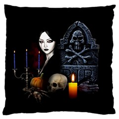 Vampires Night  Large Flano Cushion Case (two Sides) by Valentinaart