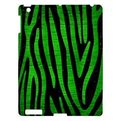 Skin4 Black Marble & Green Brushed Metal (r) Apple Ipad 3/4 Hardshell Case by trendistuff