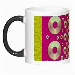 Going Gold Or Metal On Fern Pop Art Morph Mugs by pepitasart