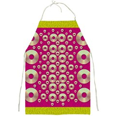 Going Gold Or Metal On Fern Pop Art Full Print Aprons by pepitasart