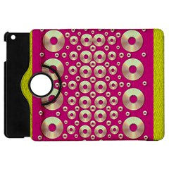 Going Gold Or Metal On Fern Pop Art Apple Ipad Mini Flip 360 Case by pepitasart