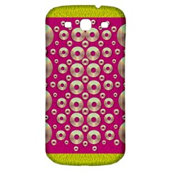 Going Gold Or Metal On Fern Pop Art Samsung Galaxy S3 S Iii Classic Hardshell Back Case by pepitasart