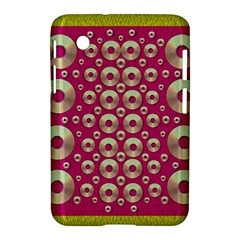 Going Gold Or Metal On Fern Pop Art Samsung Galaxy Tab 2 (7 ) P3100 Hardshell Case  by pepitasart