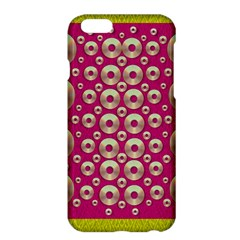 Going Gold Or Metal On Fern Pop Art Apple Iphone 6 Plus/6s Plus Hardshell Case by pepitasart