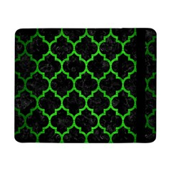 Tile1 Black Marble & Green Brushed Metal Samsung Galaxy Tab Pro 8 4  Flip Case by trendistuff