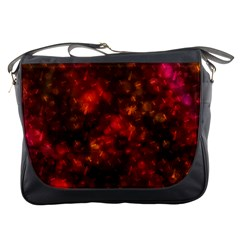 Spiders On Red Messenger Bags by AllOverIt