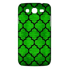 Tile1 Black Marble & Green Brushed Metal (r) Samsung Galaxy Mega 5 8 I9152 Hardshell Case  by trendistuff