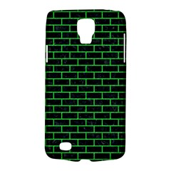 Brick1 Black Marble & Green Colored Pencil Galaxy S4 Active by trendistuff
