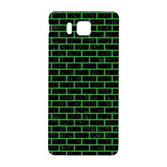 Brick1 Black Marble & Green Colored Pencil Samsung Galaxy Alpha Hardshell Back Case by trendistuff