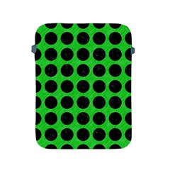 Circles1 Black Marble & Green Colored Pencil (r) Apple Ipad 2/3/4 Protective Soft Cases by trendistuff