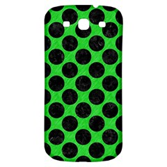 Circles2 Black Marble & Green Colored Pencil (r) Samsung Galaxy S3 S Iii Classic Hardshell Back Case by trendistuff