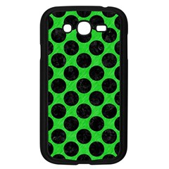 Circles2 Black Marble & Green Colored Pencil (r) Samsung Galaxy Grand Duos I9082 Case (black) by trendistuff