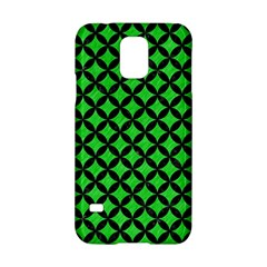 Circles3 Black Marble & Green Colored Pencil (r) Samsung Galaxy S5 Hardshell Case  by trendistuff
