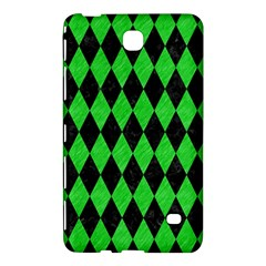 Diamond1 Black Marble & Green Colored Pencil Samsung Galaxy Tab 4 (8 ) Hardshell Case  by trendistuff