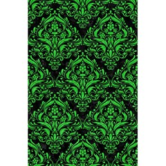 Damask1 Black Marble & Green Colored Pencil 5 5  X 8 5  Notebooks by trendistuff