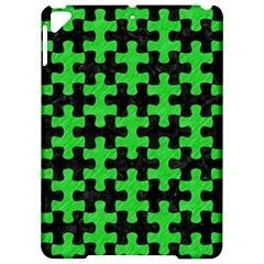 Puzzle1 Black Marble & Green Colored Pencil Apple Ipad Pro 9 7   Hardshell Case by trendistuff
